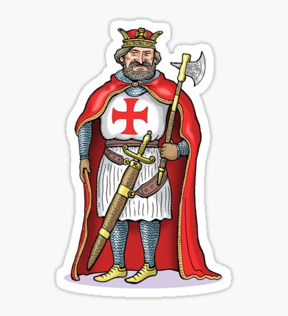 King Richard I Sticker