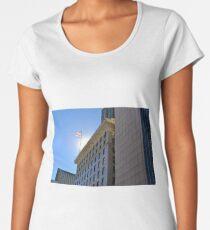 Backlit Flag Women's Premium T-Shirt