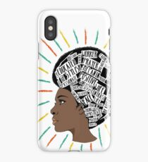 Melanin Motivated African American  iPhone Case/Skin