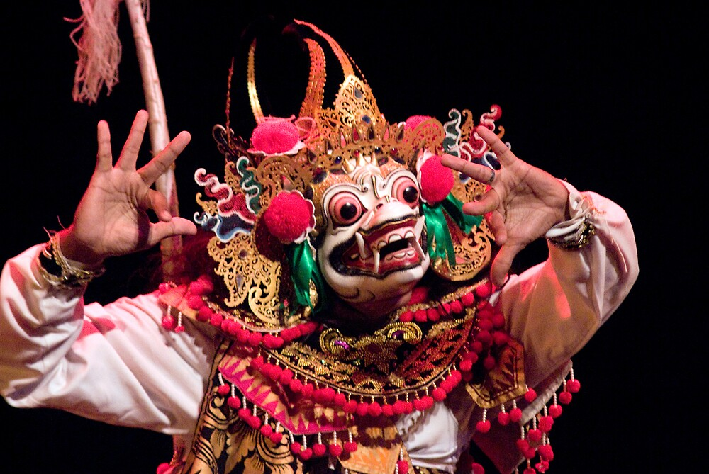 Hanuman The Monkey God by richardseah