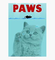 PAWS Parody Cat Attack Photographic Print