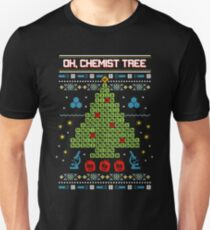 Oh Chemist Tree Ugly Christmas Sweatshirt Unisex T-Shirt