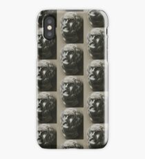 Bust pattern iPhone Case/Skin