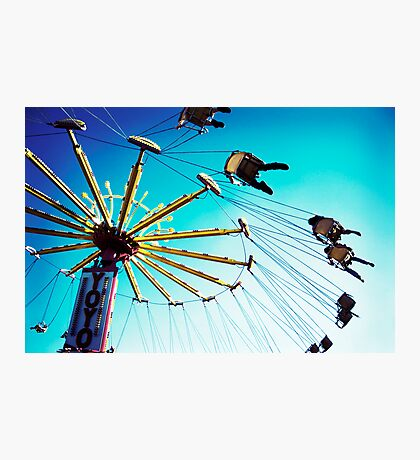 Swings at the Fair Photographic Print