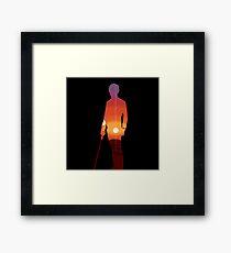 Luke Skywalker Framed Print