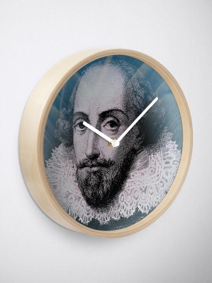 Vista alternativa de Reloj Cita de la inspiración de William Shakespeare