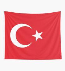 Türkei-Flagge Wandbehang