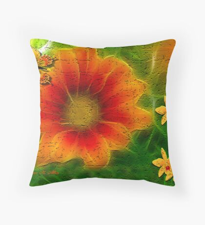 ~ PUMPKIN ORANGE ~ Throw Pillow