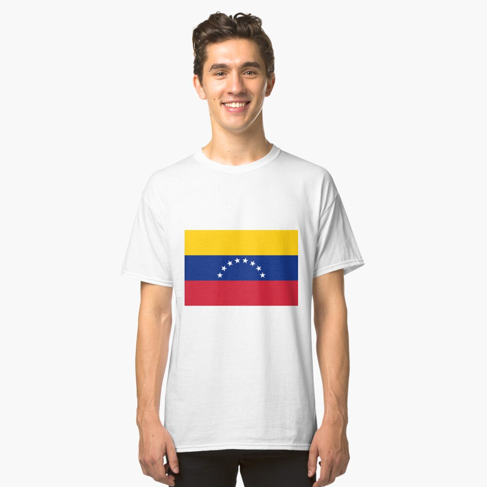 Venezuela Flag Classic T-Shirt Front