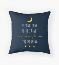 Peter Pan (Version One) Throw Pillow