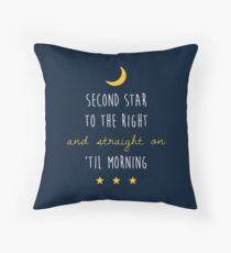 Peter Pan (Version One) Throw Pillow