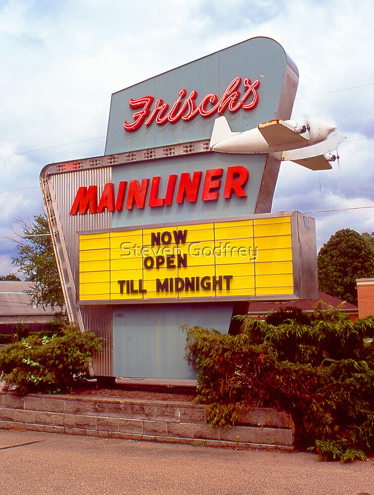 Frisch's Mainliner (Slide) by Steven Godfrey