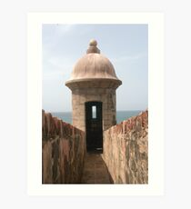 San Juan Fort Art Print