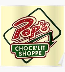 Pop's Chock'lit Shoppe (Light) Poster