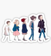 "Eleven ""Outfit Changes"" Sticker"