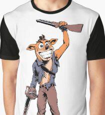 Ash Bandicoot Graphic T-Shirt