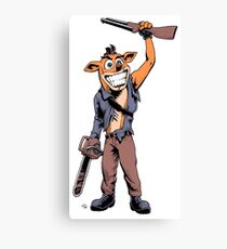 Ash Bandicoot Canvas Print