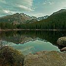 Long's Peak from Bear Lake by Gary Lengyel