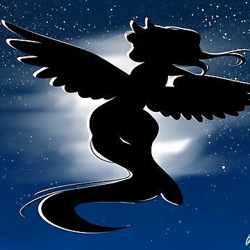 Midnight Flight by Kingdomoffire