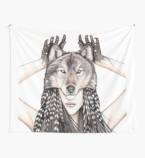 Feral Heart Wall Tapestry