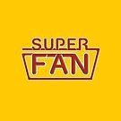 Super Fan - Neon logo (red) by tvcream