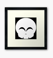 Even a skull can be happy Framed Print