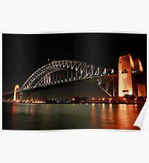 Harbour bridge, Sydney, Australia Poster