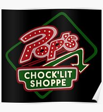 Pop's Chock'lit Shoppe (Dark) Poster