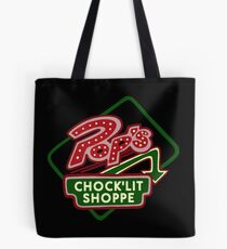Pop's Chock'lit Shoppe (Dark) Tote Bag