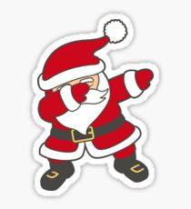 Dabbing Santa Sticker