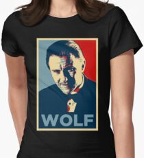 Mr. Wolf Pulp Fiction (Obama Effect) Women's Fitted T-Shirt