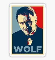 Mr. Wolf Pulp Fiction (Obama Effect) Sticker