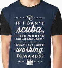 The Office - Creed Bratton If I Can't Scuba Graphic T-Shirt