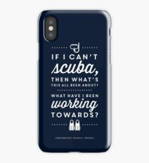 The Office - Creed Bratton If I Can't Scuba iPhone Case