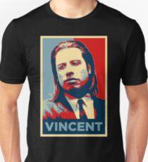 Vincent Pulp Fiction (Obama Effect) Unisex T-Shirt
