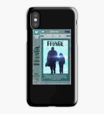 Fringe VHS iPhone Case/Skin