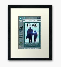 Fringe VHS Framed Print