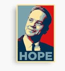 Andy Dufresne Hope (The Shawshank Redemption)  Canvas Print