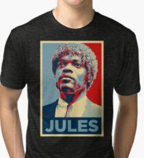 Jules Pulp Fiction (Obama Effect) Tri-blend T-Shirt