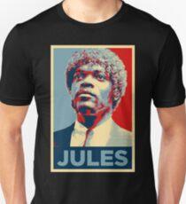 Jules Pulp Fiction (Obama Effect) Unisex T-Shirt