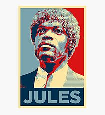 Jules Pulp Fiction (Obama Effect) Photographic Print