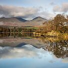 Mist below Coniston Old Man in the English Lake District by Martin Lawrence