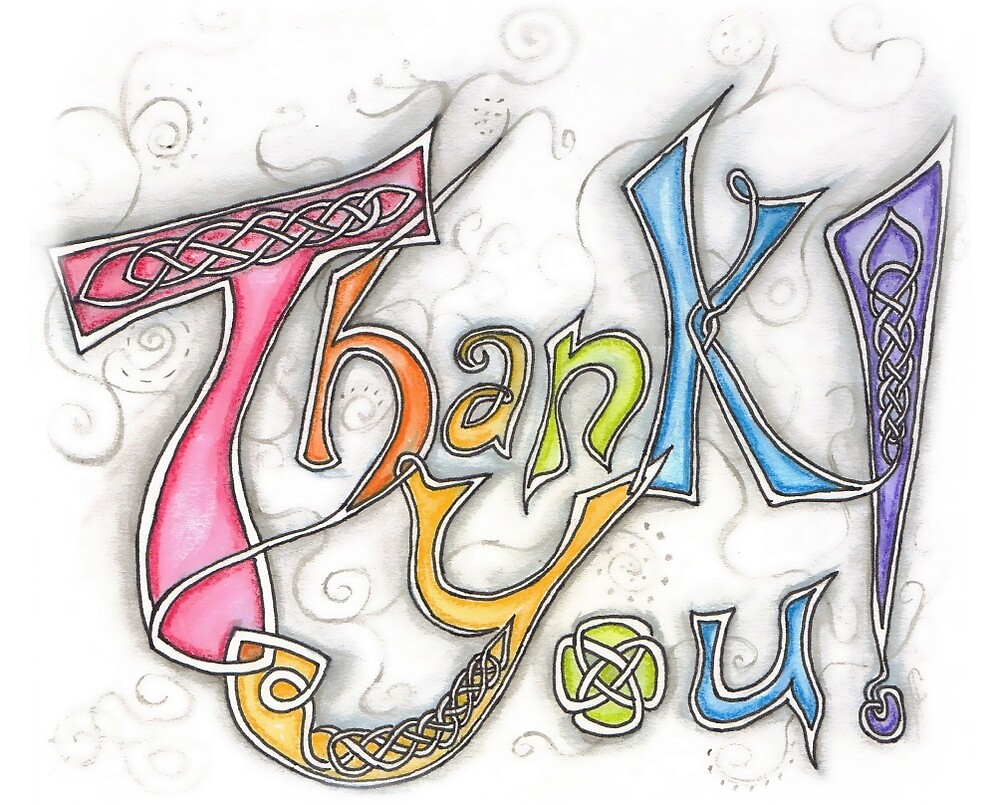 Thank You by Claire Watson