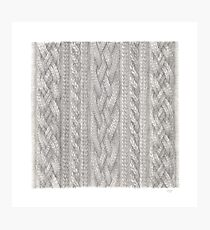 Cable Knit Photographic Print