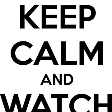Bleib ruhig und schau dir Filme an von princessbedelia
