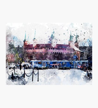 Cracow art 28 #cracow #krakow #city Photographic Print