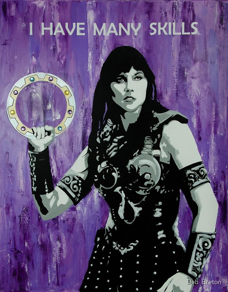 Xena Warrior Princess by Deb  Breton