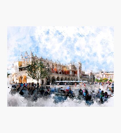 Cracow art 30 #cracow #krakow #city Photographic Print