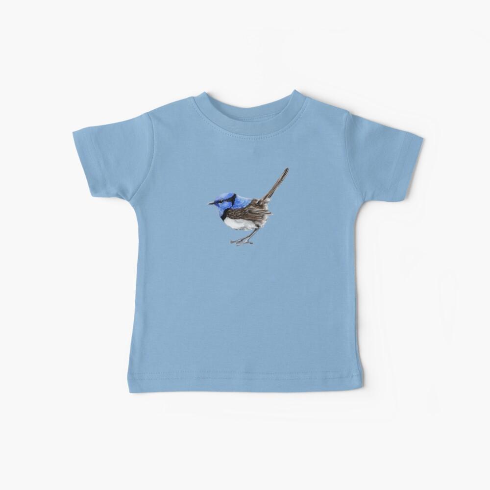 Kleiner Zaunkönig im Natürlichen Baby T-Shirt