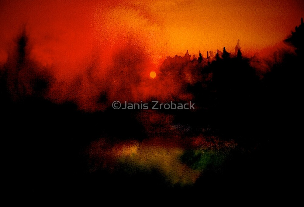 Landscape Hardy...Wessex Tales 2 by ©Janis Zroback